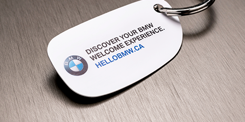 BMW Welcome Kit Key Tag